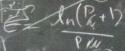 efficiency equation on blackboard