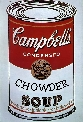 Campbell's CHOWDER SOUP can